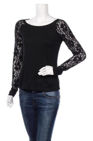 Дамска блуза Garage, Размер L, Цвят Черен, 50% полиестер, 25% вискоза, 25% памук, Цена 33,60лв.