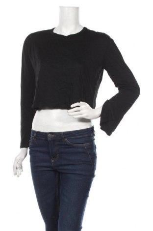 Дамска блуза Garage, Размер M, Цвят Черен, 55% памук, 45% модал, Цена 17,85лв.