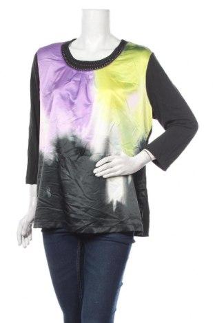 Дамска блуза Gelco, Размер XL, Цвят Черен, 92% вискоза, 8% еластан, Цена 17,96лв.