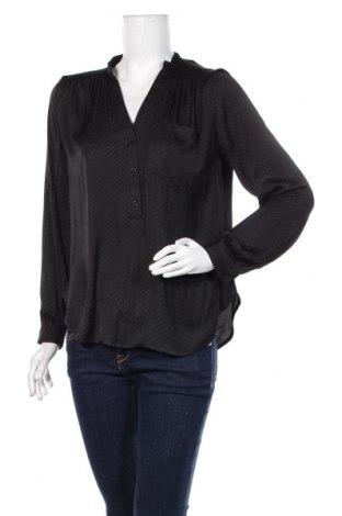 Дамска блуза H&M, Размер S, Цвят Черен, Полиестер, Цена 21,00лв.