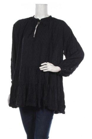 Bluză de femei H&M L.O.G.G., Mărime M, Culoare Albastru, 94% modal, 6% viscoză, Preț 72,95 Lei