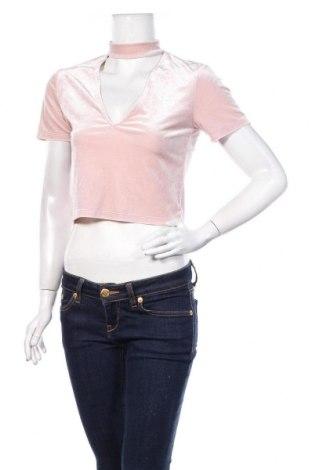 Дамска блуза H&M Divided, Размер M, Цвят Розов, Цена 16,50лв.