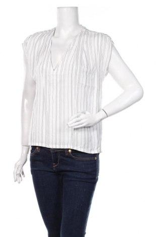 Дамска блуза H&M L.O.G.G., Размер XS, Цвят Бял, Вискоза, Цена 18,00лв.