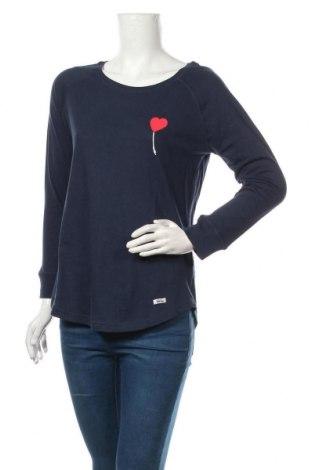 Дамска блуза HOMEBASE, Размер M, Цвят Син, Памук, Цена 66,75лв.