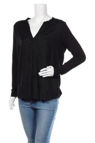Γυναικεία μπλούζα Kaffe, Μέγεθος M, Χρώμα Μαύρο, Βισκόζη, Τιμή 18,19€