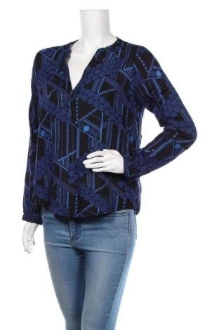 Γυναικεία μπλούζα Kaffe, Μέγεθος S, Χρώμα Μπλέ, Μοντάλ, Τιμή 23,38€