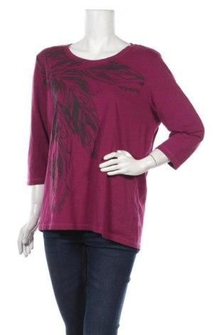 Дамска блуза Laura Kent, Размер XL, Цвят Лилав, Памук, Цена 19,95лв.