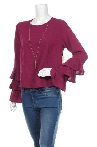 Дамска блуза Meraki, Размер L, Цвят Розов, 97% полиестер, 3% еластан, Цена 19,95лв.