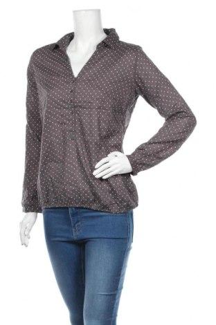 Дамска блуза Montego, Размер M, Цвят Сив, Памук, Цена 17,85лв.