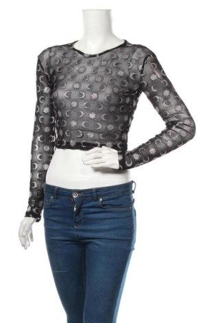 Дамска блуза Motel, Размер M, Цвят Черен, 95% полиестер, 5% еластан, Цена 16,80лв.