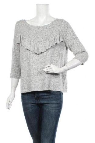 Bluză de femei ONLY, Mărime L, Culoare Gri, 81% viscoză, 14% poliester, 5% elastan, Preț 63,00 Lei