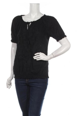 Дамска блуза Ofelia, Размер M, Цвят Черен, Памук, Цена 15,75лв.