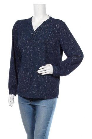 Дамска блуза Ofelia, Размер M, Цвят Син, Полиестер, Цена 19,95лв.