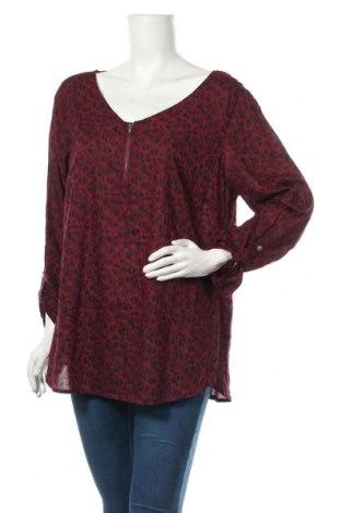 Bluzka damska Street One, Rozmiar XL, Kolor Czerwony, 100% wiskoza, Cena 57,00zł