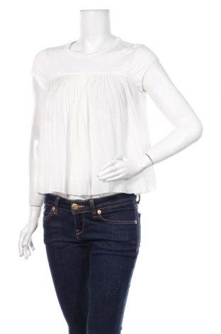 Дамска блуза Topshop, Размер M, Цвят Бял, Полиестер, вискоза, еластан, Цена 18,00лв.