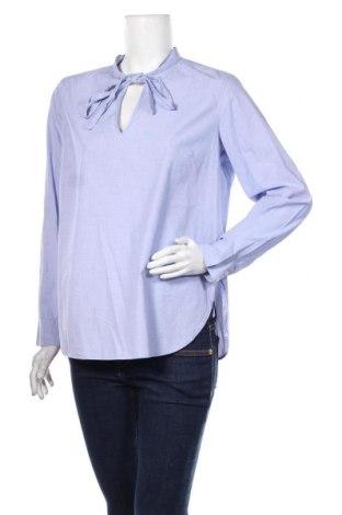 Дамска блуза United Colors Of Benetton, Размер M, Цвят Син, Цена 20,25лв.