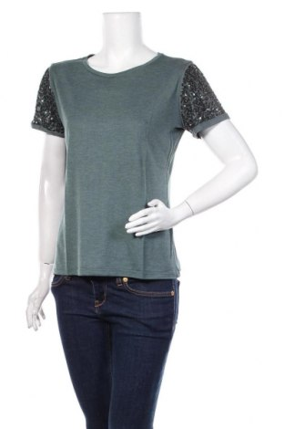 Дамска блуза United Colors Of Benetton, Размер M, Цвят Зелен, Цена 16,50лв.