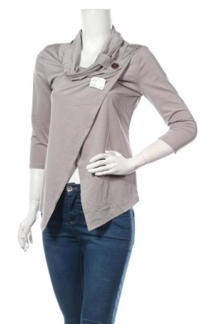 Дамска блуза Y.Yendi, Размер M, Цвят Сив, 87% вискоза, 13% еластан, Цена 24,57лв.