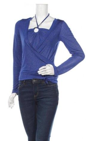 Дамска блуза Y.Yendi, Размер M, Цвят Син, 92% полиестер, 8% еластан, Цена 16,96лв.