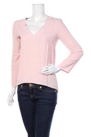 Дамска блуза Zara, Размер M, Цвят Розов, Цена 26,25лв.