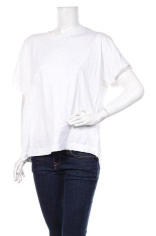 Дамска блуза Zara, Размер M, Цвят Бял, Памук, Цена 18,75лв.