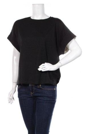 Дамска блуза Zara, Размер M, Цвят Черен, Памук, Цена 19,50лв.