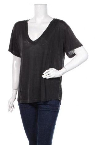 Дамска блуза Zara, Размер M, Цвят Черен, Лиосел, Цена 19,50лв.