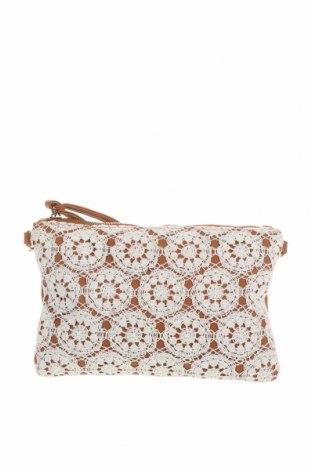 Дамска чанта, Цвят Кафяв, Текстил, еко кожа, Цена 25,20лв.