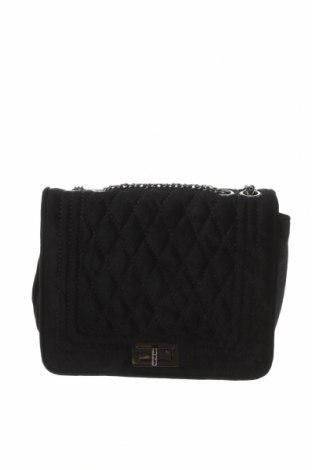 Дамска чанта, Цвят Черен, Текстил, Цена 27,30лв.