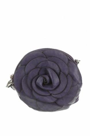 Дамска чанта, Цвят Лилав, Еко кожа, Цена 22,05лв.
