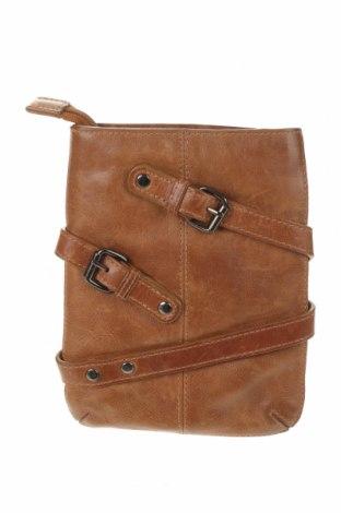 Дамска чанта Adax, Цвят Кафяв, Естествена кожа, Цена 44,25лв.