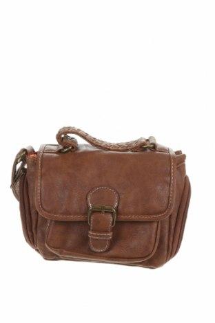 Дамска чанта Atmosphere, Цвят Кафяв, Еко кожа, Цена 26,25лв.