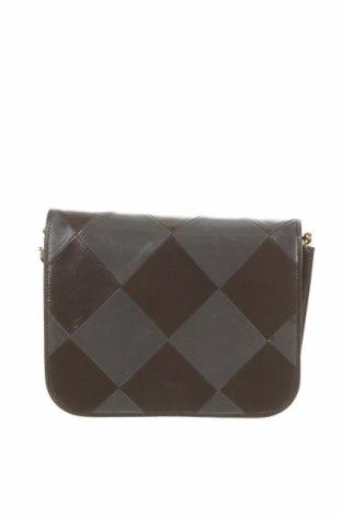 Γυναικεία τσάντα Bally, Χρώμα Γκρί, Γνήσιο δέρμα, Τιμή 124,33€