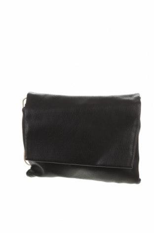 Geantă de femei Bershka, Culoare Negru, Piele ecologică, Preț 112,83 Lei