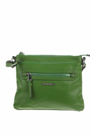 Дамска чанта Dana Buchman, Цвят Зелен, Еко кожа, Цена 29,40лв.