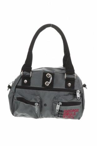 Γυναικεία τσάντα George Gina & Lucy, Χρώμα Γκρί, Κλωστοϋφαντουργικά προϊόντα, Τιμή 19,49€