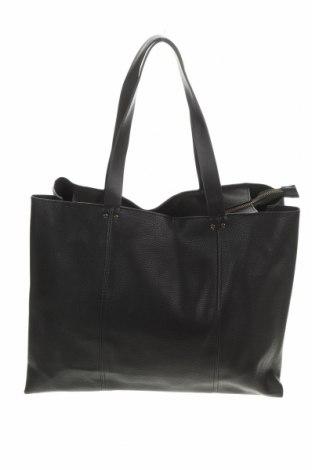 Дамска чанта Mango, Цвят Черен, Еко кожа, Цена 30,45лв.