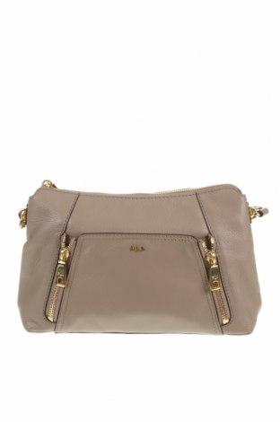 Дамска чанта Ralph Lauren, Цвят Бежов, Естествена кожа, Цена 71,40лв.