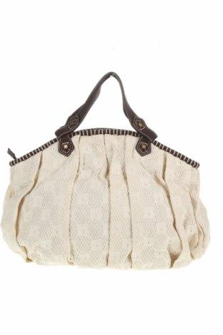 Dámská kabelka  Zara, Barva Bílá, Textile , Eko kůže, Cena  625,00Kč