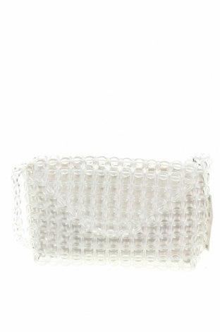 Γυναικεία τσάντα Zara, Χρώμα Λευκό, Άλλα υλικά, Τιμή 32,01€