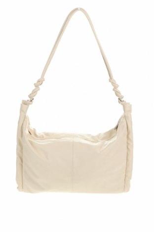Γυναικεία τσάντα Zara, Χρώμα  Μπέζ, Δερματίνη, Τιμή 24,12€