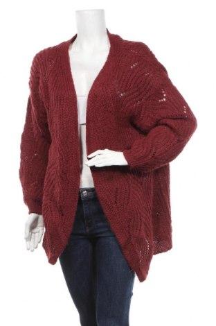 Cardigan de damă ONLY, Mărime M, Culoare Roșu, 75%acril, 25% poliamidă, Preț 92,84 Lei