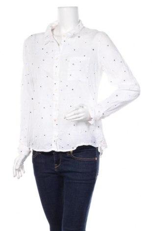Γυναικείο πουκάμισο Kaffe, Μέγεθος L, Χρώμα Λευκό, Βαμβάκι, Τιμή 22,08€
