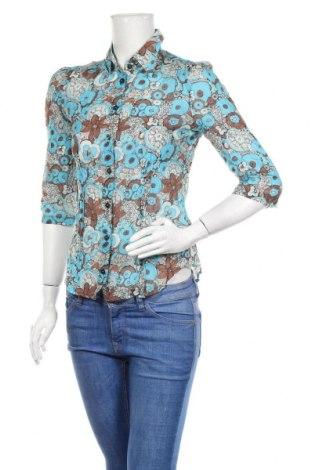 Γυναικείο πουκάμισο Miss Sixty, Μέγεθος S, Χρώμα Πολύχρωμο, 72% βαμβάκι, 28% μετάξι, Τιμή 18,19€