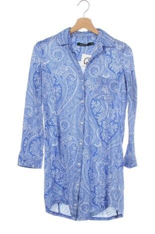 Cămașă de femei Ralph Lauren, Mărime XS, Culoare Albastru, 100% bumbac, Preț 119,37 Lei