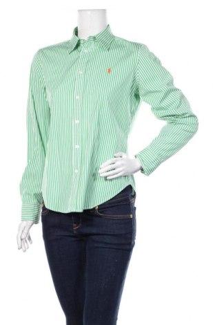 Damska koszula Ralph Lauren, Rozmiar M, Kolor Zielony, Bawełna, Cena 115,20zł