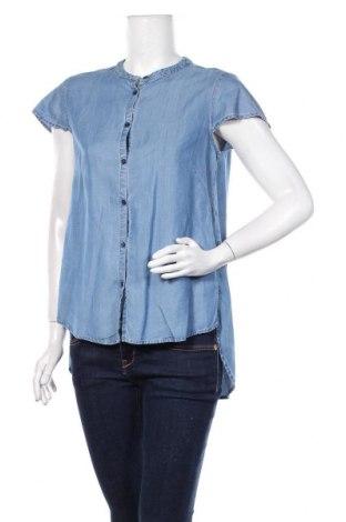 Damska koszula United Colors Of Benetton, Rozmiar M, Kolor Niebieski, Tencel, Cena 60,00zł