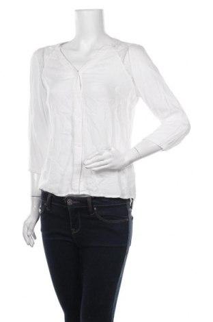 Γυναικείο πουκάμισο Vero Moda, Μέγεθος S, Χρώμα Λευκό, Βισκόζη, Τιμή 10,39€