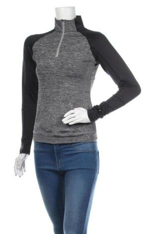 Дамска спортна блуза, Размер M, Цвят Сив, Цена 17,85лв.