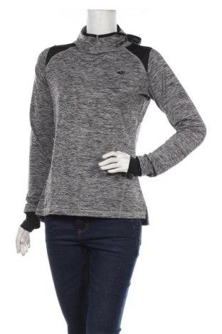 Дамска спортна блуза Ahlens, Размер S, Цвят Сив, 90% полиестер, 10% еластан, Цена 16,80лв.